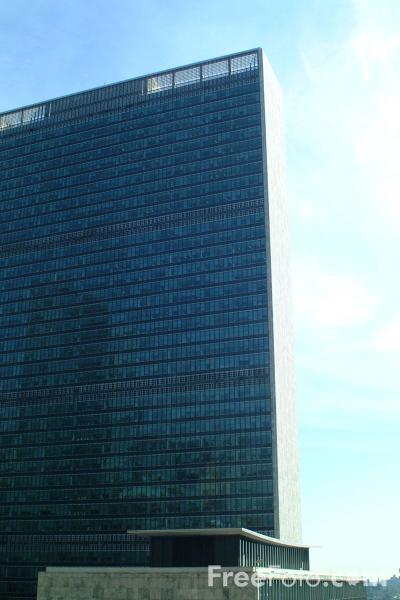 Picture of United Nations Building - New York City - Free Pictures - FreeFoto.com