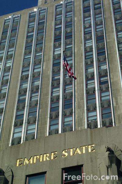 Picture of Empire State Building - New York City - Free Pictures - FreeFoto.com