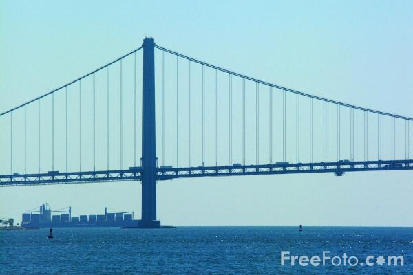 Picture of Verrazano Narrows Bridge - New York City - Free Pictures - FreeFoto.com