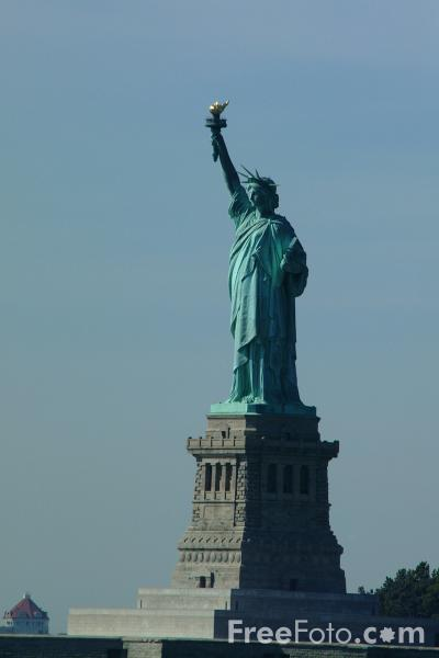 Picture of Statue of Liberty - New York City - Free Pictures - FreeFoto.com