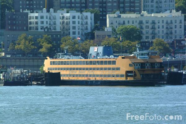 Picture of Staten Island Ferry  - New York City - Free Pictures - FreeFoto.com