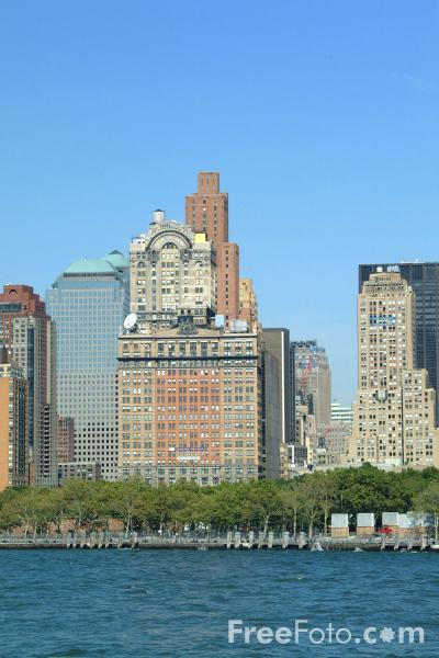 Picture of Manhattan Skyline New York City - Free Pictures - FreeFoto.com