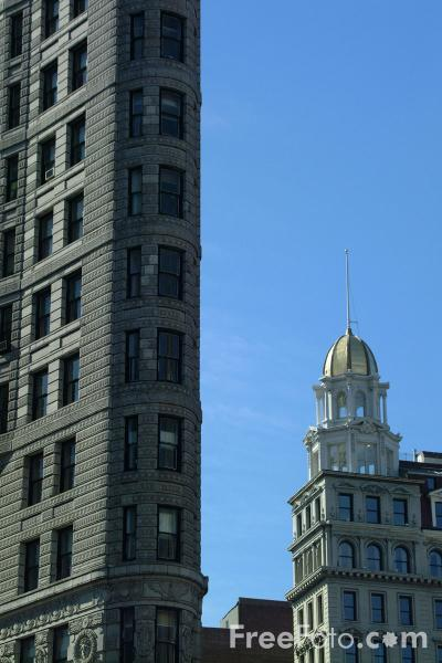 Picture of Flat Iron Building - New York City - Free Pictures - FreeFoto.com