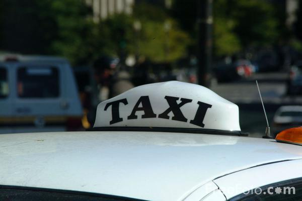 Picture of Taxi, Boston, Massachusetts - Free Pictures - FreeFoto.com