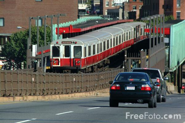 Picture of Charles / Massachusetts General Hospital Station, Red Line, Boston, Massachusetts - Free Pictures - FreeFoto.com