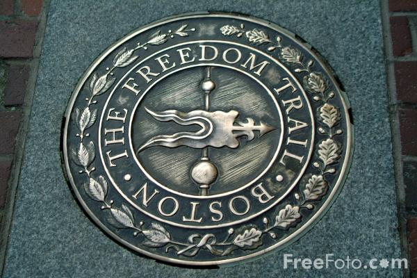 Picture of The Freedom Trail, Boston, Massachusetts - Free Pictures - FreeFoto.com