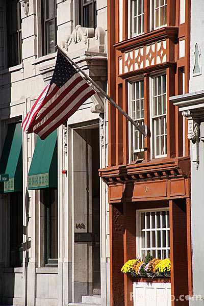 Picture of Old House, Downtown Boston - Free Pictures - FreeFoto.com
