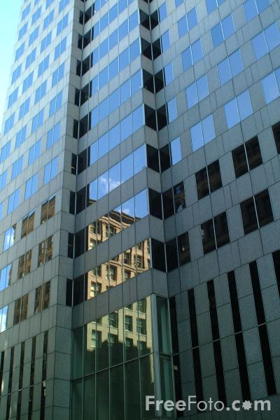 Picture of Office Block, Downtown Crossing, Boston, Massachusetts - Free Pictures - FreeFoto.com