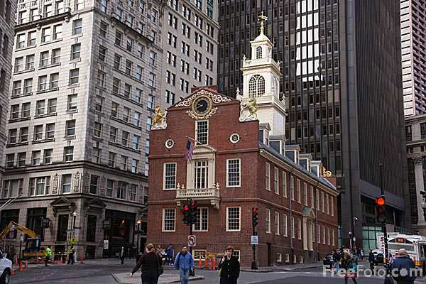 Picture of The Old State House, Boston - Free Pictures - FreeFoto.com