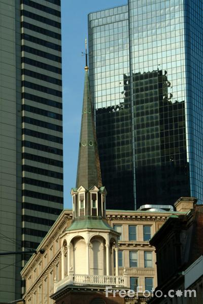 Picture of Old South Meeting House in Boston, Massachusetts - Free Pictures - FreeFoto.com