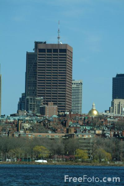Picture of Boston Skyline, Boston, Massachusetts, USA - Free Pictures - FreeFoto.com