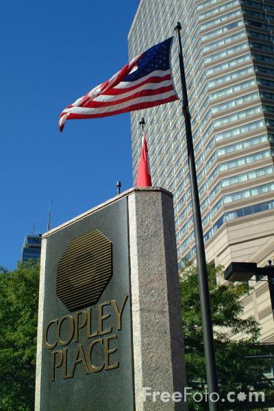 Picture of Copley Place, Back Bay, Boston, Massachusetts - Free Pictures - FreeFoto.com