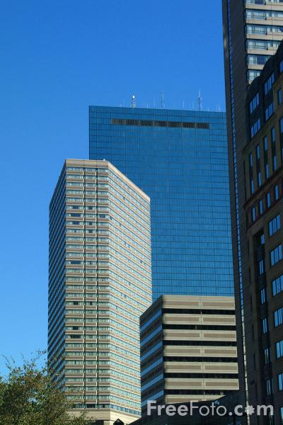 Picture of Back Bay, Boston, Massachusetts - Free Pictures - FreeFoto.com