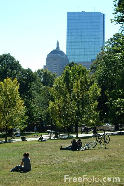 Picture of Boston Common, Boston, Massachusetts - Free Pictures - FreeFoto.com