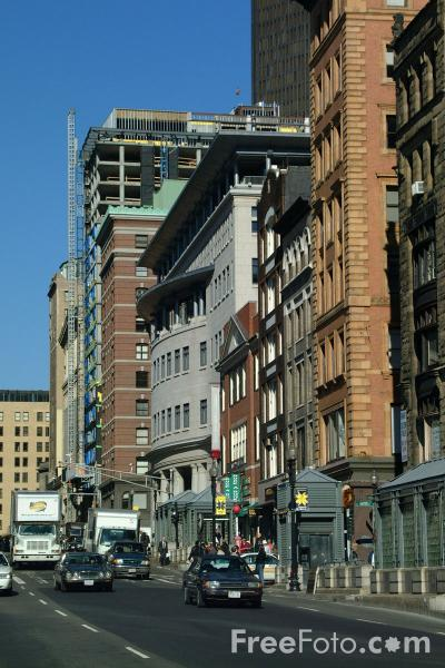 Picture of Tremont Street, Boston, Massachusetts - Free Pictures - FreeFoto.com