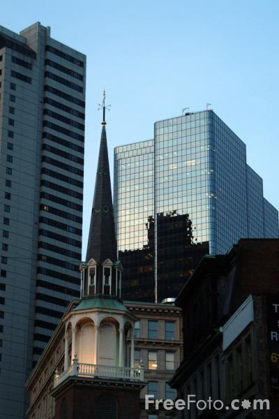 Picture of Church, Boston, Massachusetts - Free Pictures - FreeFoto.com