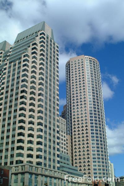 Picture of 125 High Street office complex, Boston, Massachusetts - Free Pictures - FreeFoto.com