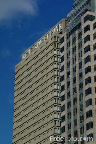 Picture of State Street Bank, Boston, Massachusetts - Free Pictures - FreeFoto.com