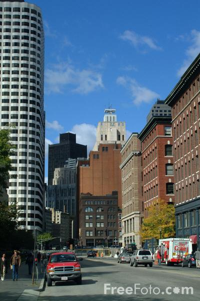 Picture of Financial District, Boston, Massachusetts - Free Pictures - FreeFoto.com