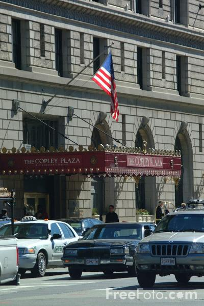 Picture of The Copley Plaza Hotel, Back Bay, Boston, Massachusetts - Free Pictures - FreeFoto.com