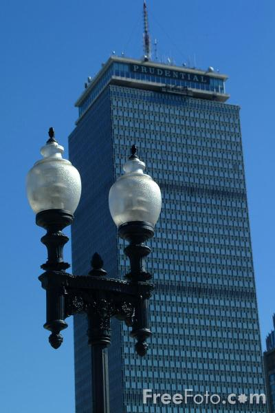 Picture of Prudential Tower, Back Bay, Boston, Massachusetts - Free Pictures - FreeFoto.com