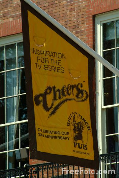 Picture of Cheers on Beacon Hill, Boston, Massachusetts - Free Pictures - FreeFoto.com