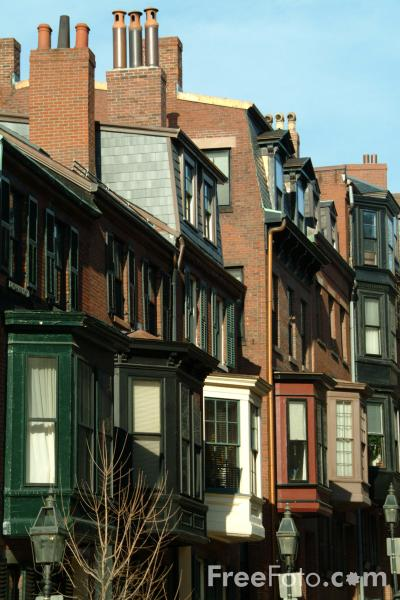 Picture of Beacon Hill, Boston, Massachusetts - Free Pictures - FreeFoto.com