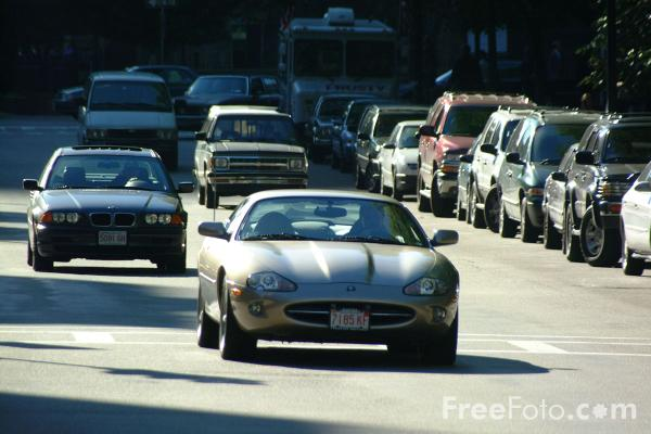 Picture of Road Traffic, Boston, Massachusetts - Free Pictures - FreeFoto.com