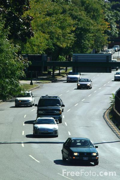 Picture of Embankment Road, Route 1, Boston, Massachusetts - Free Pictures - FreeFoto.com