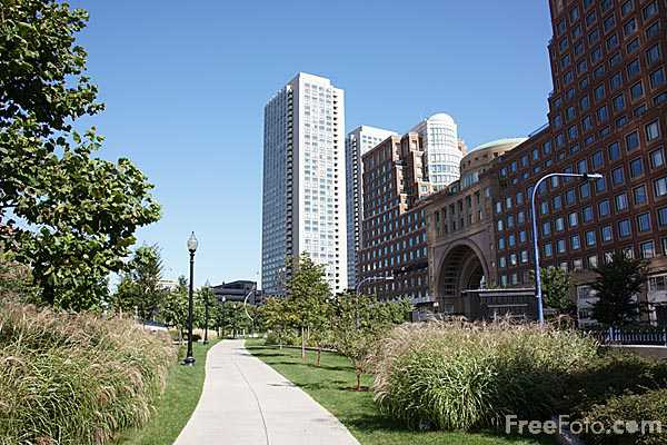 Picture of Kennedy Greenway, Boston - Free Pictures - FreeFoto.com
