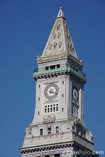 Picture of The Custom House Tower, Boston, Massachusetts - Free Pictures - FreeFoto.com