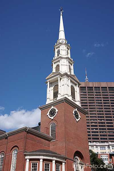 Picture of Park Street Church, Boston, MA. - Free Pictures - FreeFoto.com