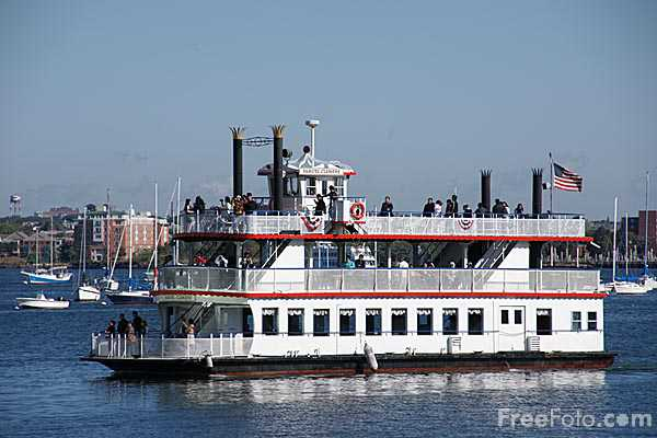 Picture of Charles Riverboat, Boston - Free Pictures - FreeFoto.com
