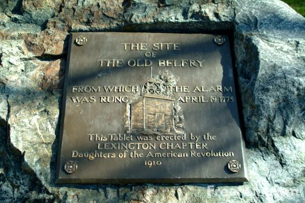 Picture of The site of the Old Belfry, Lexington, Massachusetts, USA - Free Pictures - FreeFoto.com