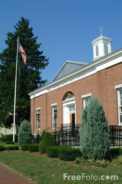 Picture of Post Office, Lexington, Massachusetts - Free Pictures - FreeFoto.com