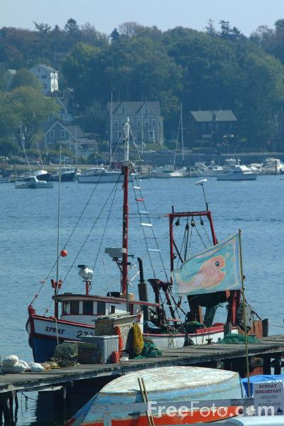 Gloucester harbor massachusetts pictures free use image for Mass commercial fishing license