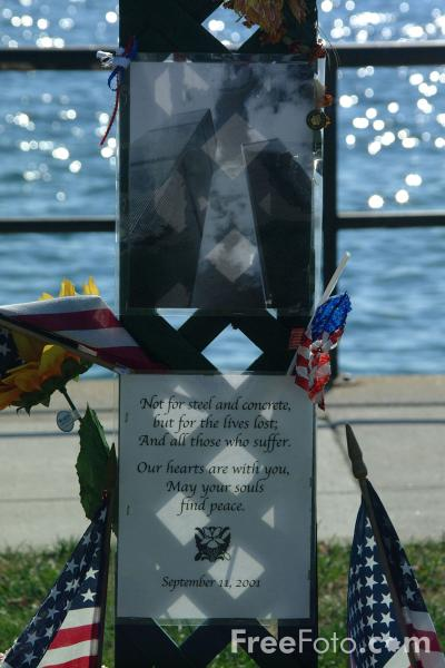 Picture of September 11 Memorial, Gloucester, Massachusetts - Free Pictures - FreeFoto.com
