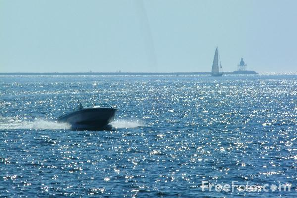 Picture of Gloucester Bay, Gloucester, Massachusetts - Free Pictures - FreeFoto.com
