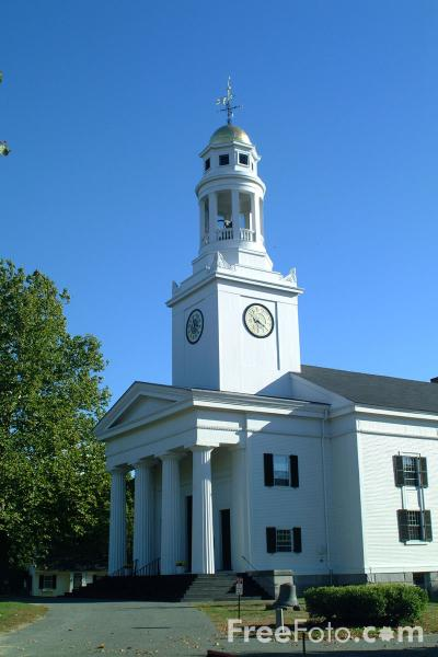 Picture of The First Parish Church Concord, Massachusetts, USA - Free Pictures - FreeFoto.com