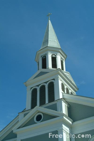Picture of St Bernard's Parish Church, Concord, Massachusetts - Free Pictures - FreeFoto.com