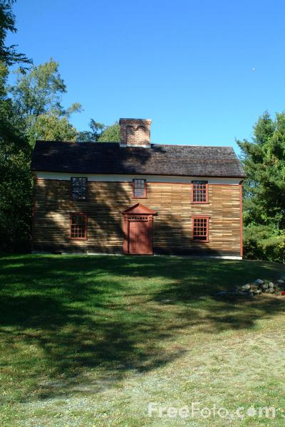 Picture of Hartwell Tavern, Minute Man National Historical Park, Massachusetts - Free Pictures - FreeFoto.com