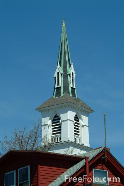 Picture of Church Building, Rockport, Massachusetts, USA - Free Pictures - FreeFoto.com