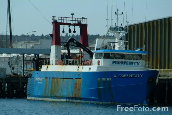 Picture of Fishing Boat, Gloucester, Massachusetts, USA - Free Pictures - FreeFoto.com