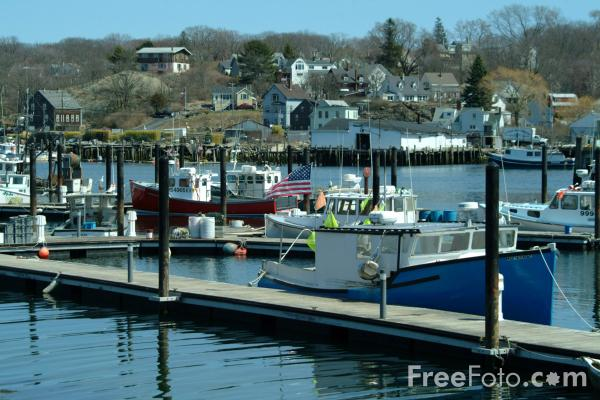 Picture of Harbor, Gloucester, Massachusetts, USA - Free Pictures - FreeFoto.com