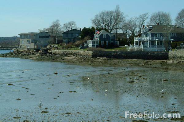 Picture of Rocky Neck Art Colony, Gloucester, Massachusetts, USA - Free Pictures - FreeFoto.com