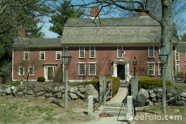 Picture of Longfellow's Wayside Inn, Sudbury, Massachusetts, USA - Free Pictures - FreeFoto.com