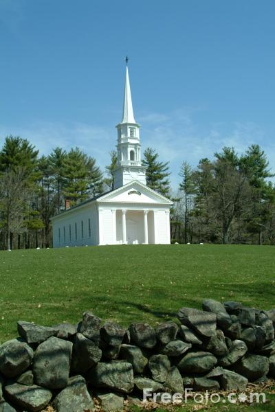 Picture of Martha Mary Chapel, Sudbury, Massachusetts, USA - Free Pictures - FreeFoto.com