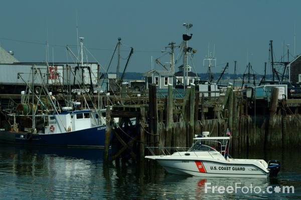 Picture of US Coast Guard, Plymouth, Massachusetts - Free Pictures - FreeFoto.com