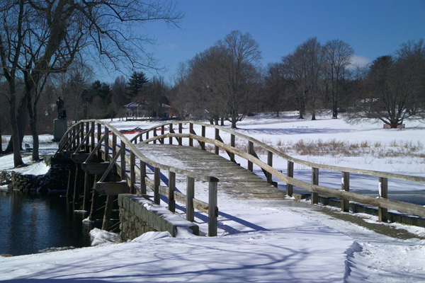 Picture of The Old North Bridge, Concord, Massachusetts, USA - Free Pictures - FreeFoto.com