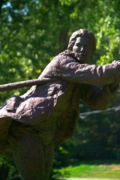 Picture of Bedford Flag Statue, Bedford, MA - Free Pictures - FreeFoto.com